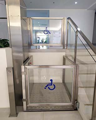 Plataformas para discapacitados