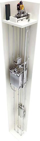 Cabina motor ascensor